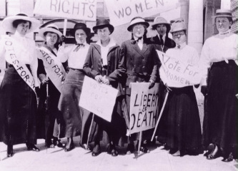 woman suffrage movement essay The women's suffrage in the united states of america heralding the women's movement in the us, taylor's essay helped to initiate a similar movement in britain.